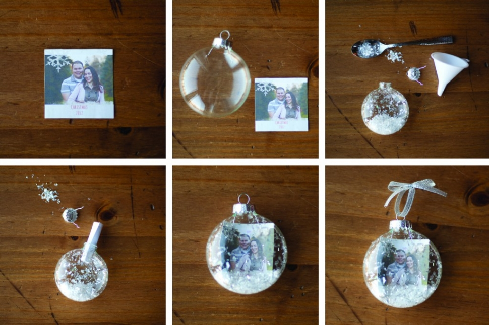 Diy with r p how to make a snow globe christmas ornament
